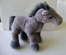 WEBKINZ GANZ GRAY ARABIAN HORSE PLUSH STUFFED ANIMAL TOY * NO CODE