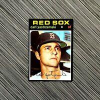 1971 Topps 530 Carl Yastrzemski | EX-MT / EX MINT | Red Sox