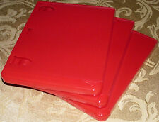 PS3 Replacement Game Case Red (3X) Playstation 3