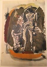 George Braque, Bull Fight Picador, Original Mourlot Lithograph 1955