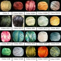 Colors 210-243 EdMar Brazilian thread Glory//Iris//Lola//Nova//Cire//Boucle//Frost