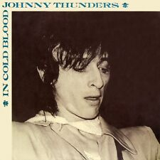 Johnny Thunders In Cold Blood Ep + Live Lp New Rose Records 1983