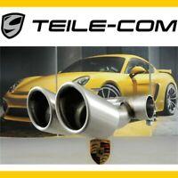 -30% ORIG. Porsche Boxster S/Cayman S 981 Endrohr rund/Serien Auspuff /Tail pipe