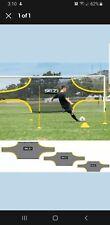 SKLZ Soccer Training Goal Shot 24×8 - Black/Yellow