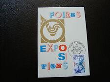 FRANCIA - tarjeta 1er día 20/11/1976 (ferias exposiciones) (cy89) french