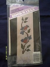 "Banar ""Bluebird Bookmark"" Cross Stitch Kit Size 3"" x 6"""