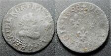 Henri IV, Double tournois 1608 D