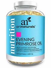 Evening Primrose Oil Softgel Supplements - Women Hormone Balance (1,000mg)