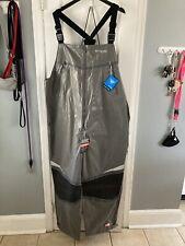 Mens Columbia Pfg Extreme Outdry Gray Fishing Hunt Bib 2Xl Waterproof $300 Nwt