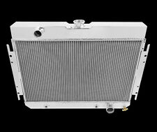 1964 through1967 Chevy Chevelle Champion Cooling Four Row  Aluminum Radiator