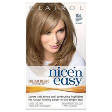 Clairol Nice'n Easy Hair Color Natural Medium Ash Blonde 106
