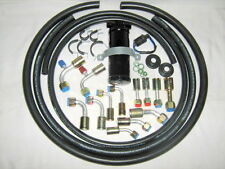 A/C HOSE KIT, GENERAL USE, , W/90  DEGREE R134A O RING FITTINGS/T​RINARY SWITCH