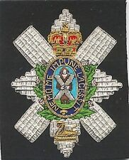UK Scotland Scottish Patch Badge Scots Guards Clan Regiment Army BEF Division X
