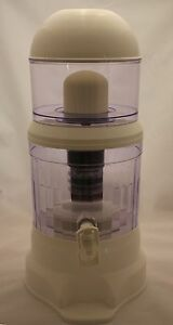 Countertop 4 Gallon 8 Stage Mineral Water Purifier System - BPA FREE