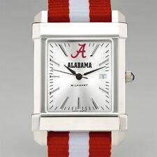 ALABAMA Crimson Tide Wristwatch striped strap M. LaHart New in Gift Box 50% off