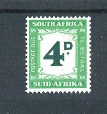 South Africa KGVI 1950-58 Postage Due 4d myrtle-green & emerald SG.D42 MNH