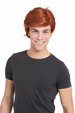 Bristol Novelty BW938 Man's Side Parting Wig Ginger One Size