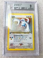2000 Neo Genesis 1st Edition Lugia #9 BGS 9 PSA 9 (STRONG SUBS 10/9.5/9.5/8.5)