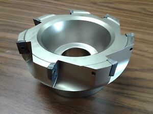 """5"""" 90 degree indexable face shell mill,face milling cutter APKT #Z-2526-4035"""