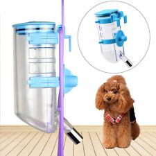 Auto Dog Rabbit Cat Pet Water Feeder Dispenser Drinker Bottle Hanger 350ML