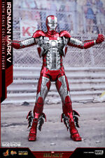 Hot Toys Marvel Iron Man 2 Iron Man Mark V 5 DIECAST 1/6 Scale Figure In Stock