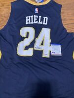 Buddy Hield Signed Autographed New Orleans Pelicans Rookie Jersey! PSA COA!