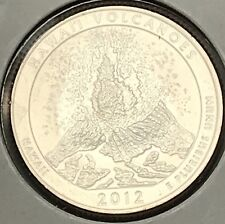 Free S//H 2012S HAWAII VOLCANOES America the Beautiful Quarter from US Mint Roll
