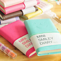 Cute Paper School Diary Memo Notebook Charming Portable Smile Note Book Planner