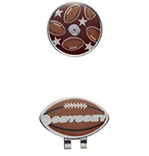 Odyssey Japan Golfball Markierer Clip 5919229 Rugby Fußball Brown