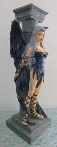 Vintage Nemesis Now Dark Fairy Gothic Fantasy Figurine Candle Holder No. 2297