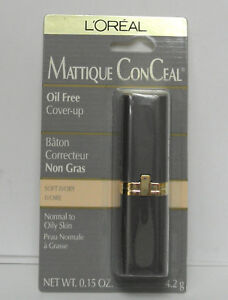 Loreal Mattique ConCeal Oil Free Cover Up Soft Ivory