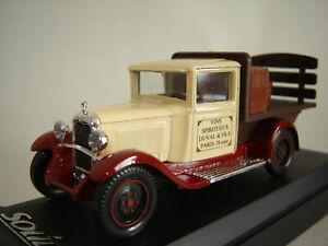 1/43 CITROEN C4F Pick-up Brasseur 1930 - Solido SL4437