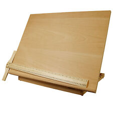 Extra Large Adjustable Wood Artist Drawing & Sketching Board