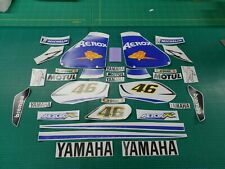 Aerox R Sport Rossi 46 decals stickers graphics kit Fiat scooter race replica