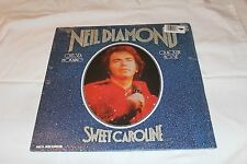 Neil Diamond Import  LP-SWEET CAROLINE   STEREO Mostly SEALED