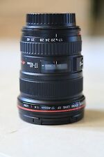 Canon EF 17-40mm f/4 L USM Lens (Mint Condition)