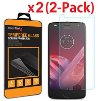2 Pack Tempered Glass Screen Protector For Motorola Moto Z2 Play  Z2 Force