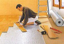 30sqm Laminate, Wood, Parquet Flooring; Reflective Insulation Mat, Underlay