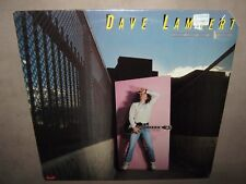 DAVE LAMBERT Framed RARE SEALED LP 1979 PD-1-6193 John Entwistle Denny Seiwell