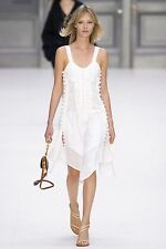Chloe RUNWAY Cotton Knee-Length Dress Size FR38