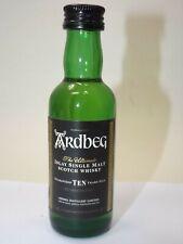 Whisky Ardbeg Ten  single malt 5 cl 46 % mini flasche bottle miniature