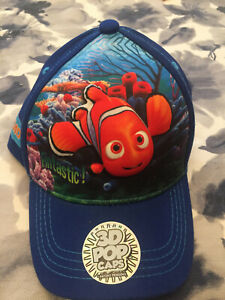 New Nemo Finding dory 3d  Pop Hat  Cap  Child Size NWT