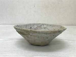 Y2613 CHAWAN Tokoname-ware Yamajawan excavated Kamakura era Japan tea ceremony