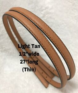 "Replacement Straps Light Tan 1/2""wide Brandnew"