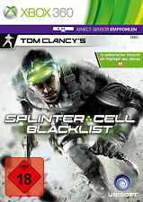 X360 / Xbox 360 Spiel - Tom Clancy´s Splinter Cell: Blacklist (USK18) (mit OVP)