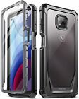 Motorola Moto G Power (2021) Clear Case,Poetic® Dual Layer Shockproof Cover