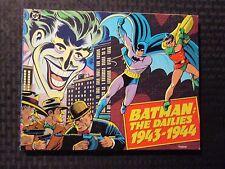 1990 BATMAN The Dailies 1943-1944 SC VF 8.0 1st Kitchen Sink Printing