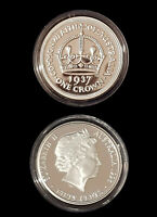 1937 99.9% Proof Silver Crown from 1998 Masterpieces Silver Set - 36.31 grm 50c