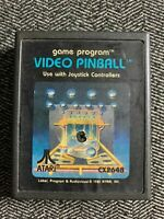 VIDEO PINBALL - ATARI 2600 - GAME ONLY - FREE S/H - (A1)
