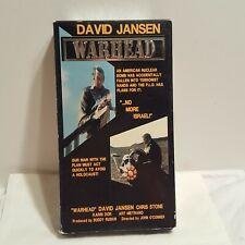 Warhead - David Jansen - Quality Video VHS